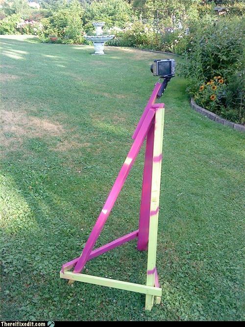classy homemade tripod - 3768033024