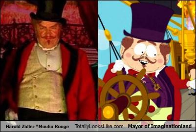harold zidler,mayor of imaginationland,moulin rouge,South Park