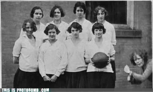 basketball jk photobomb sports support vintage WNBA - 3769713664