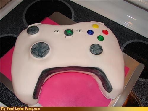cake,control,controller,games,Sweet Treats,video games,xbox