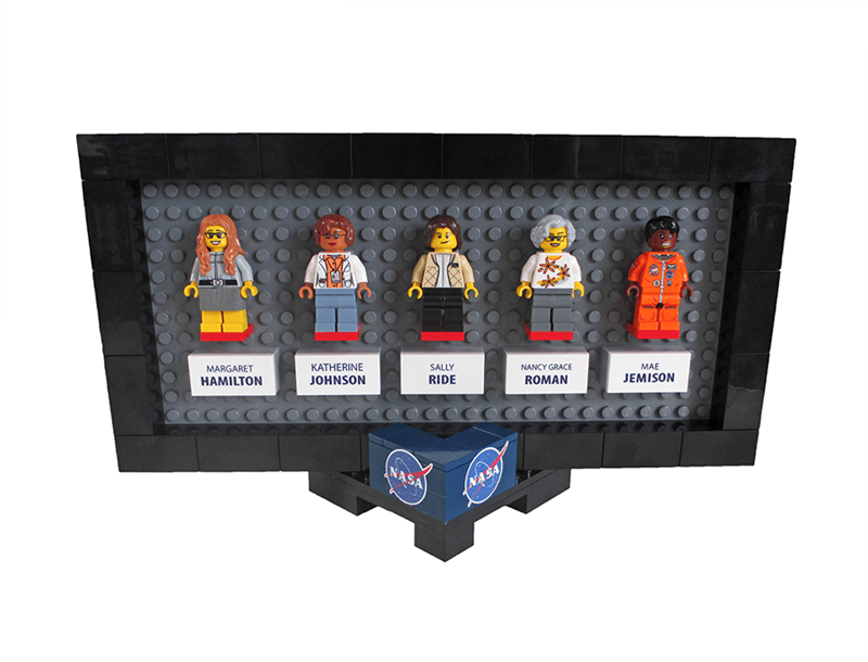 new lego series with the women of nasa