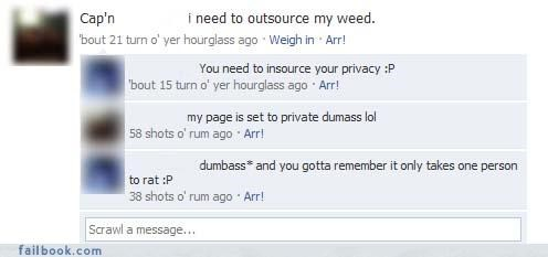 dumb criminals privacy settings too stupid for facebook you need new friends - 3771248896