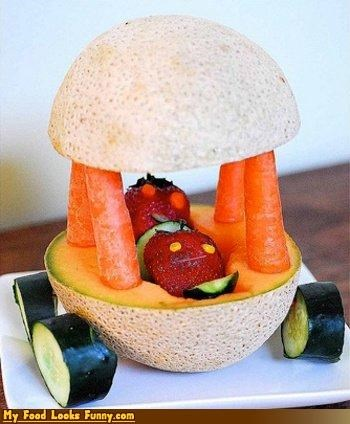 cab cantaloupe car carrots cucumbers fruit fruits-veggies strawberries - 3771336704