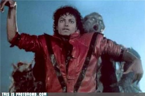 awesome,Impending Doom,michael jackson,photobomb,rip,thriller,zombie