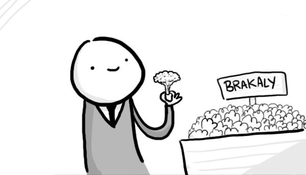 comic sobre brocoli
