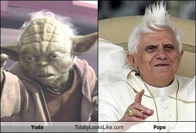 pope,star wars,yoda