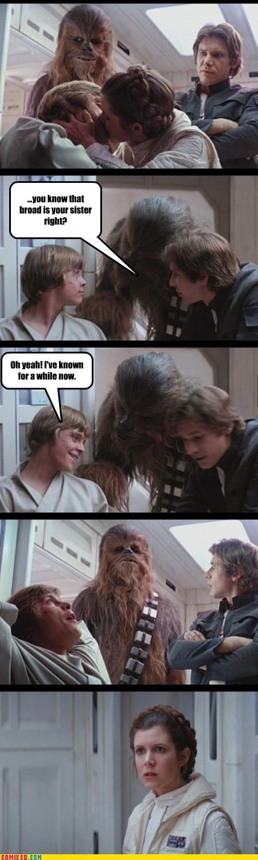 Empire Strikes Back fun family times greek tragedy Han Solo Hoth luke skywalker Princess Leia star wars - 3772267264