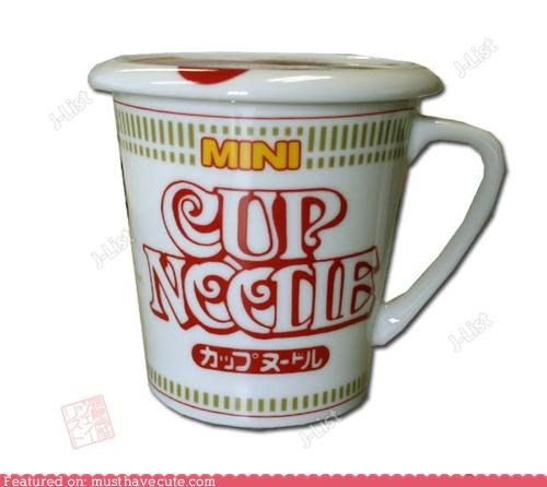 ceramic coffee cup cup noodles cute-kawaii-stuff mug noodles pottery - 3772773888