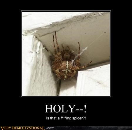 gaaaaw Kill It With Fire spider Terrifying unsee webs