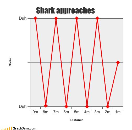 Line Graph shark - 3775080960