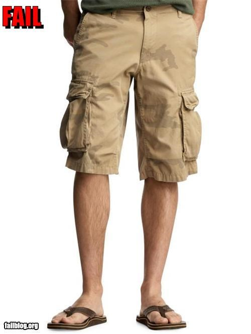 camo clothes failboat pee stain shorts - 3775224064