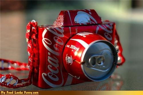 camera can cans coca cola coke coke camera cola drink soda - 3775558400