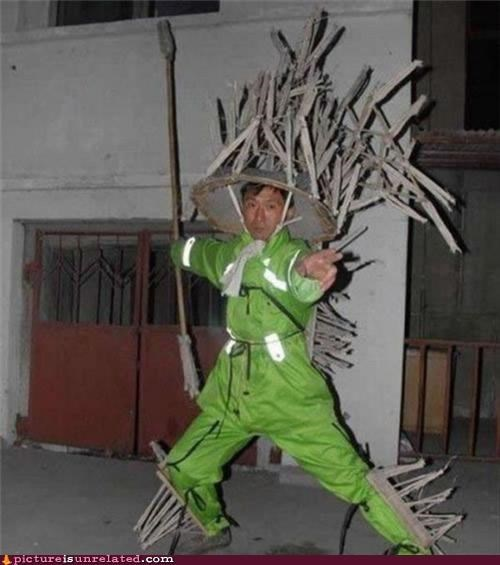 asian costume garbage kung fu wtf - 3775741184