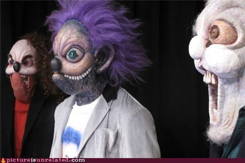 costume creepy family mask wtf - 3776861696