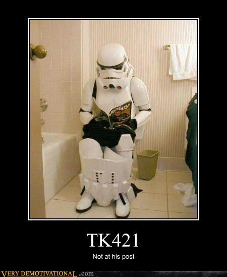 TK421 Not at his post