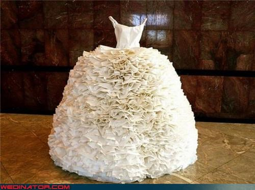 bride,crazy wedding dress,fashion is my passion,funny wedding dress picture,funny wedding photos,invisible bride,miscellaneous-oops,poofy wedding dress,sneaky bride,surprise