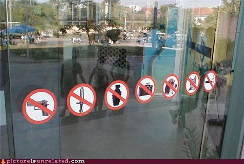 grenades no smoking sign warning wtf - 3779434496