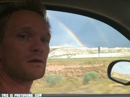 Celebrity Edition double rainbow nature nph road trip