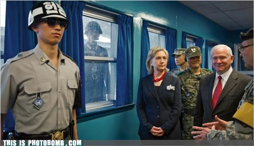 Hillary Clinton korea politics solider - 3783607808