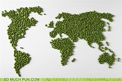 globe peace peas puns vegetables world - 3783874048