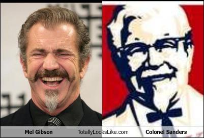 colonel sanders,mel gibson