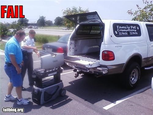 bbq failboat pet cremation tailgate - 3784894464
