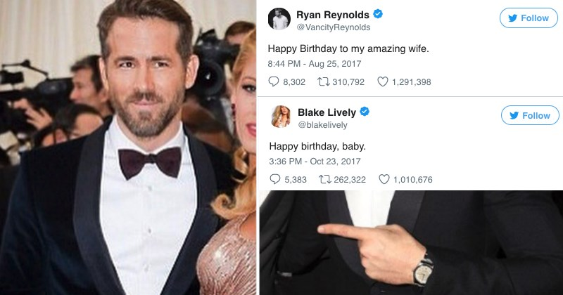Blake Gets Revenge on Ryan Reynolds With A Birthday Troll Payback