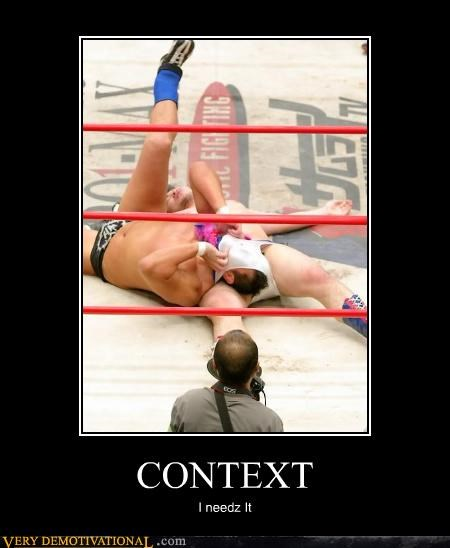 context,please explain,sniff,Terrifying,underwear,wrestling