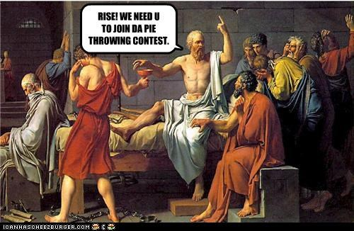 RISE! WE NEED U TO JOIN DA PIE THROWING CONTEST.