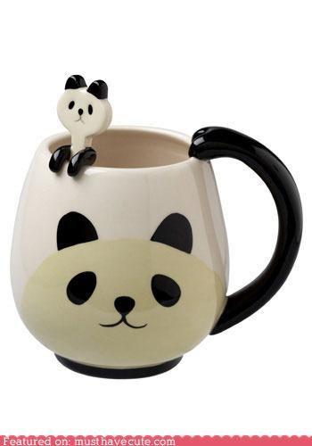 coffee Cute mugs Kitchen Gadget panda - 3787750144