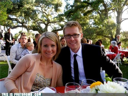 cool dad formal glasses Good Times photobomb weddings - 3788206592