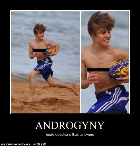 ANDROGYNY more questions than answers