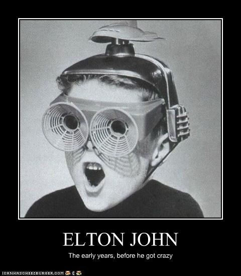 ELTON JOHN The early years, before he got crazy