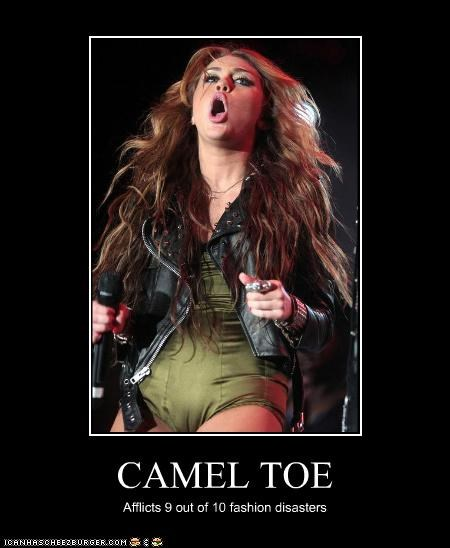 CAMEL TOE Afflicts 9 out of 10 fashion disasters