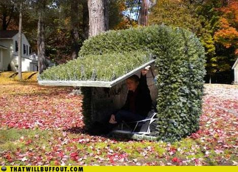 bush camouflage cartoons hidden inspector gadget wtf - 3791239936