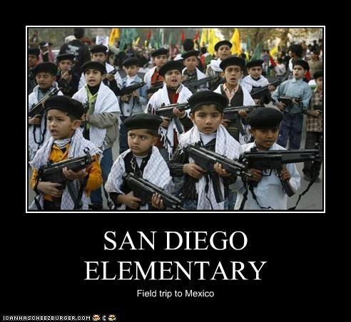 SAN DIEGO ELEMENTARY Field trip to Mexico