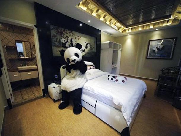 panda hotel in china