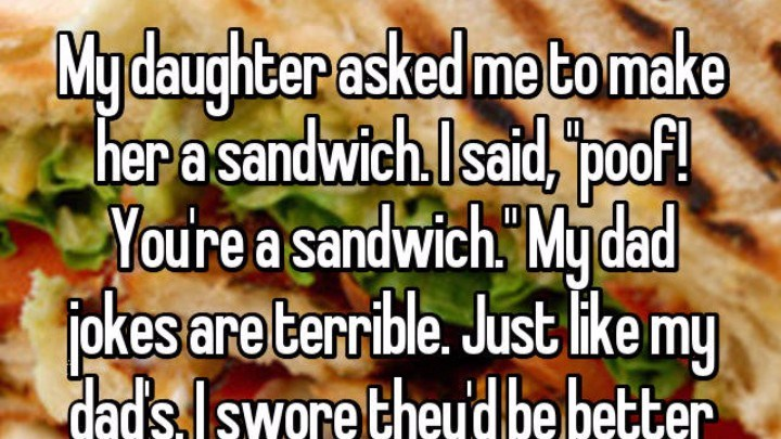 a funny list of when people realized they became their parents