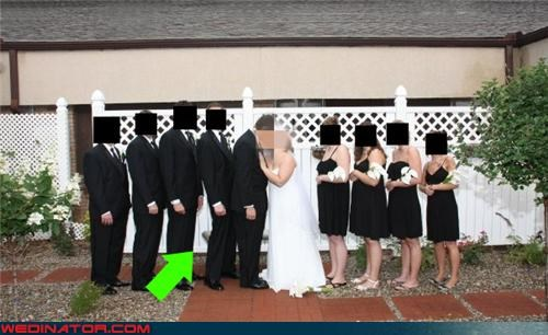 bride bridesmaids confusing eww funny groomsman picture funny wedding picture groom groomsman secret Groomsmen humping miscellaneous-oops secret admirer wedding picture surprise technical difficulties were-in-love wedding party wtf