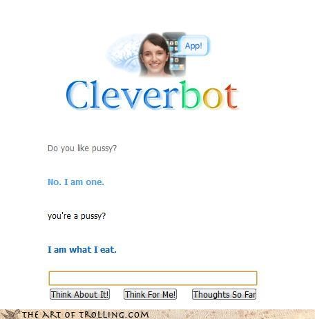 Cats,Cleverbot,lesbian,sexy times