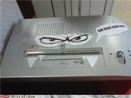 cubicle boredom googly eyes office supplies shredder - 3797039360