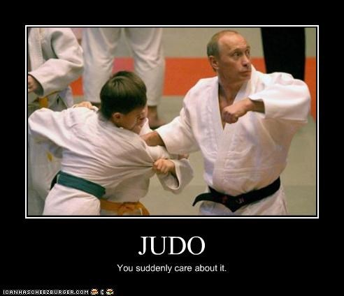 demotivational funny judo lolz Vladimir Putin vladurday - 3797688576