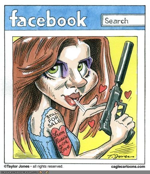 Anna Chapman,cartoons,funny,spy