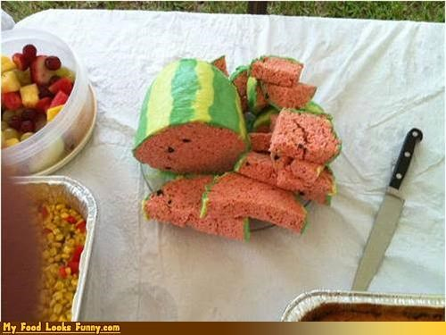 dessert rice krispies rice krispies treats surprise Sweet Treats things that look like things watermelon - 3799893504