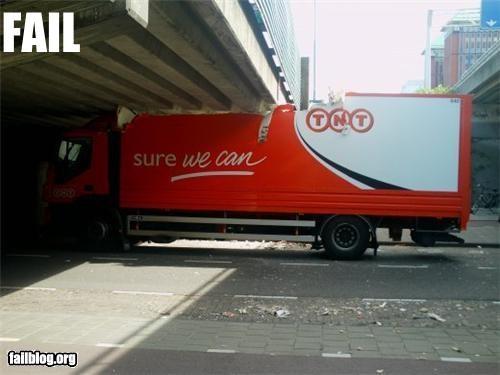 bridge driving failboat g rated truck - 3800858368