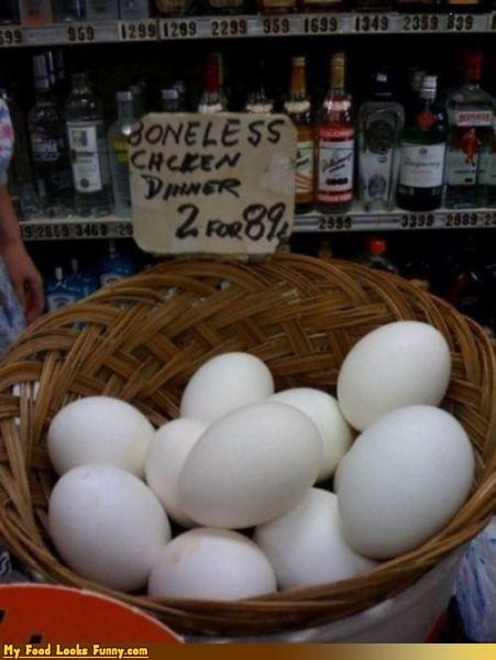 basket boneless chicken boneless chicken dinner chicken dinner eggs sale sign - 3801016576