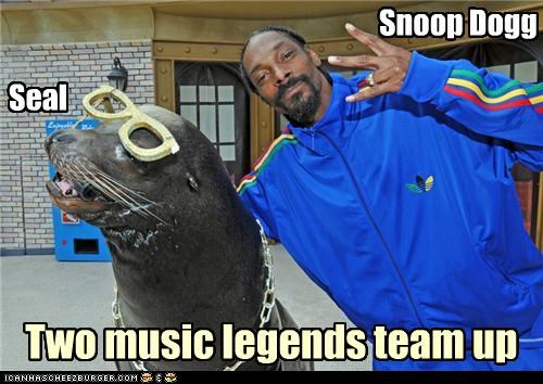 seal,snoop dogg