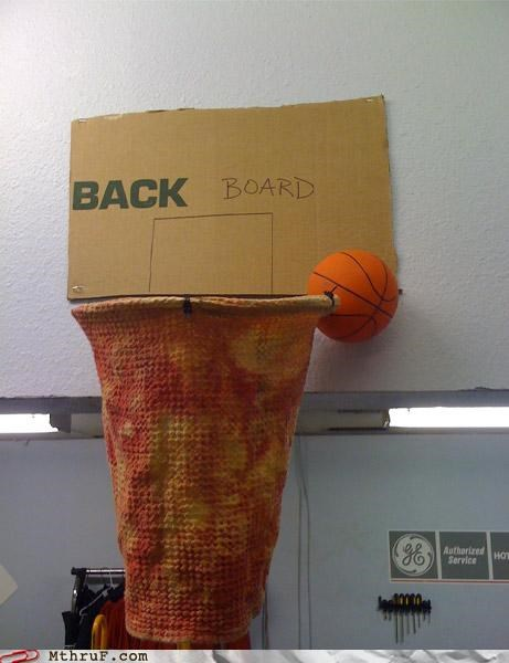 basketball,get back to work,ingenuity,pimp my cubicle