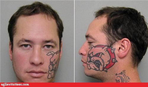 animals face tats mug shots - 3802998272