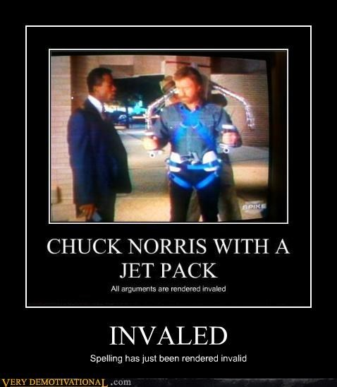 chuck norris jet pack funny - 3803375360